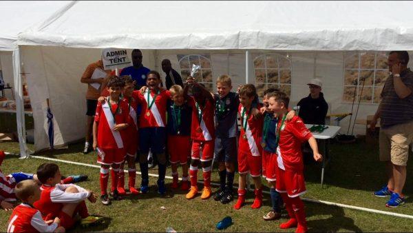 Winners at Eldon Celtic FC Summer Tournament