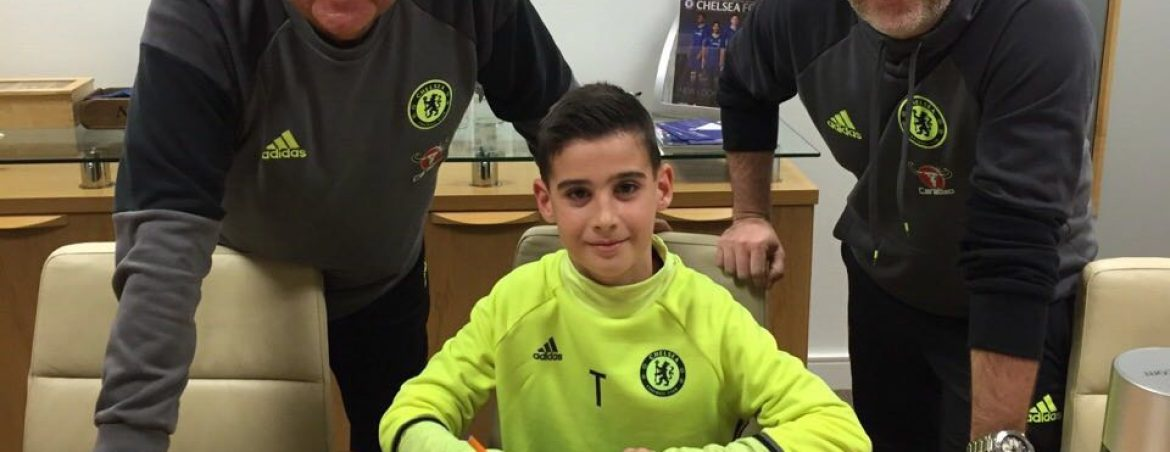 Teo signs for Chelsea!