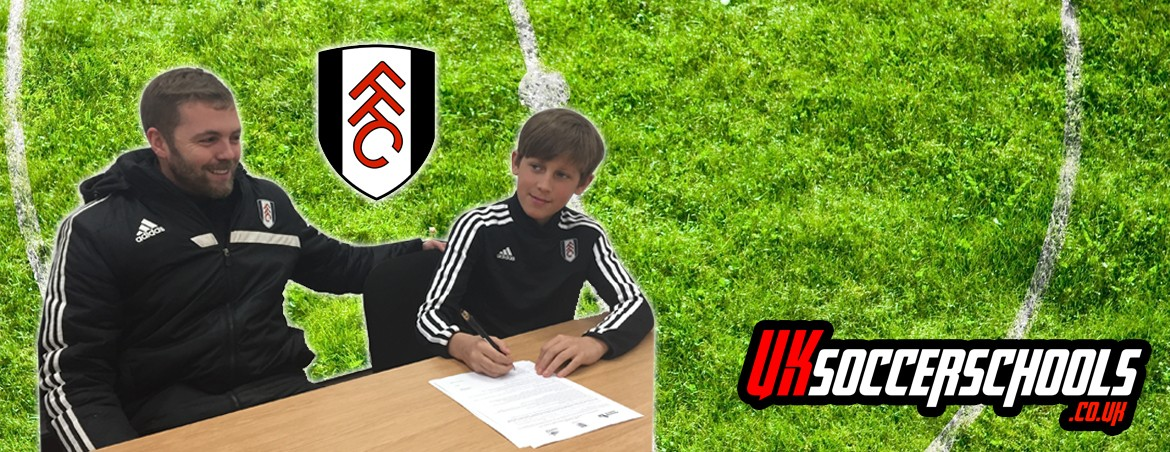 Charlie signs for Fulham FC