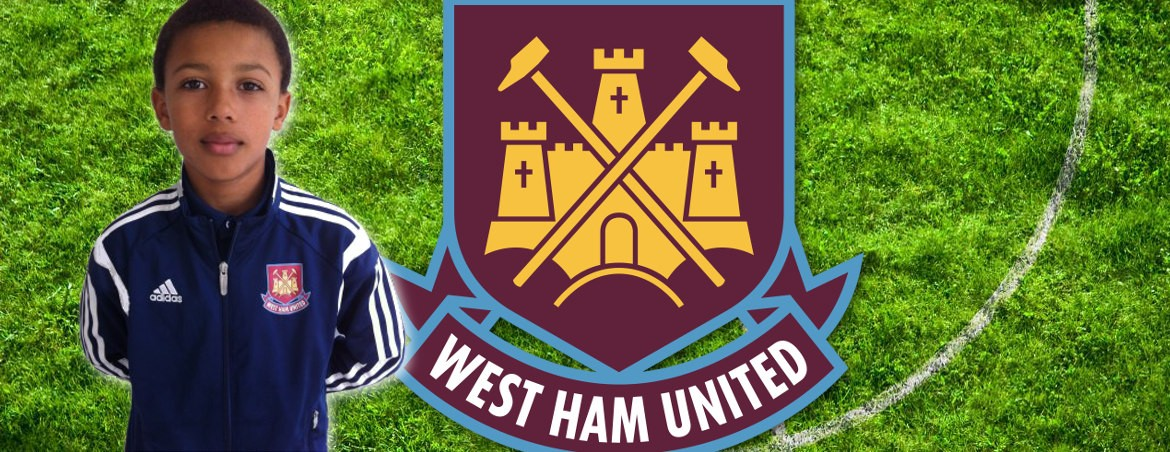 Caleb signs for West Ham United